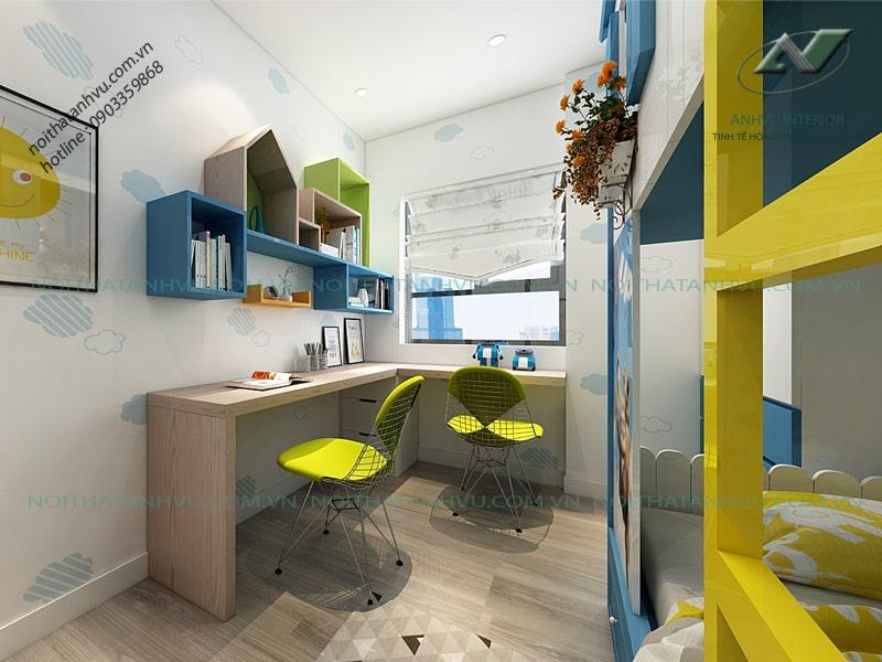Thiết kế nội thất căn hộ Park Hill - Nội thất Anh Vũ