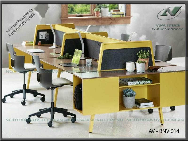 Bộ bàn ghế văn phòng đẹp - Nội thất Anh Vũ