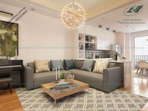 Mẫu thiết kế nội thất chung cư đẹp tại Park Hill - Nội thất Anh Vũ