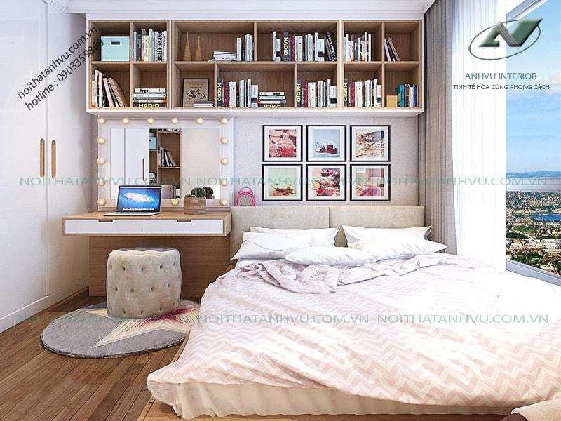 Nội thất chung cư 3 phòng ngủ cao cấp - Nội thất Anh Vũ