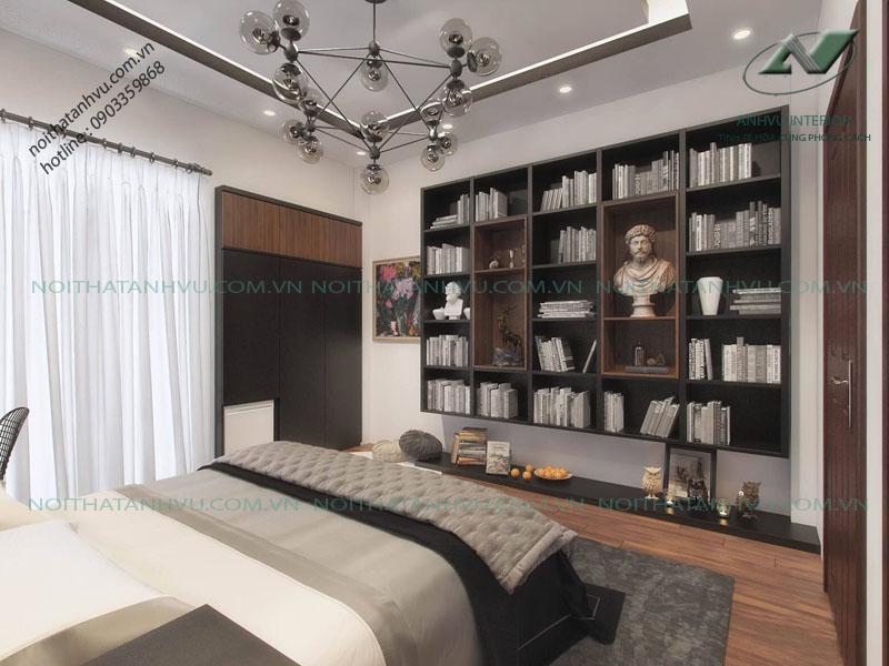 Nội thất phòng ngủ chung cư cao cấp Park Hill - Nội thất Anh Vũ