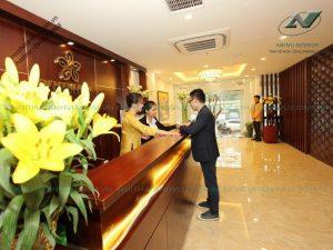 Thi công nội thất khách sạn cao cấp - Nội thất Anh Vũ