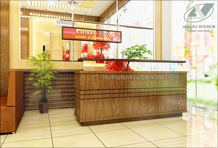 Thiết kế nội thất nhà hàng BBQ - Nội thất Anh Vũ