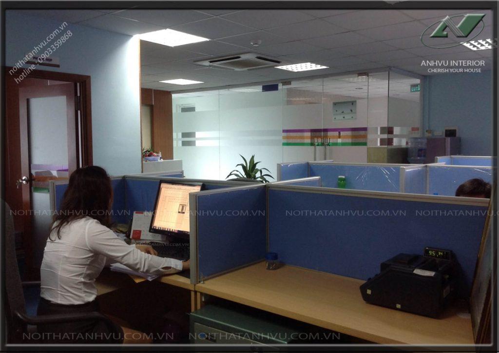 Thiết kế thi công văn phòng THT - Nội thất Anh Vũ