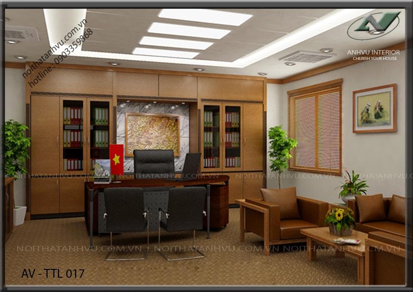 Tủ văn phòng để tài liệu, hồ sơ - Nội thất Anh Vũ