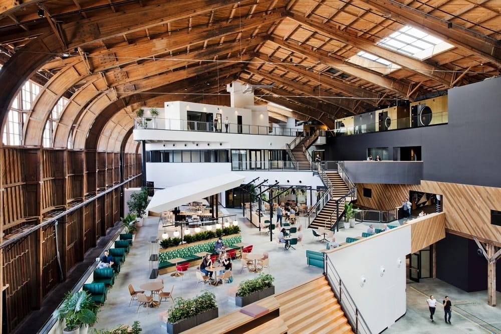 Thiết kế nội thất văn phòng của Google tại Los Angeles