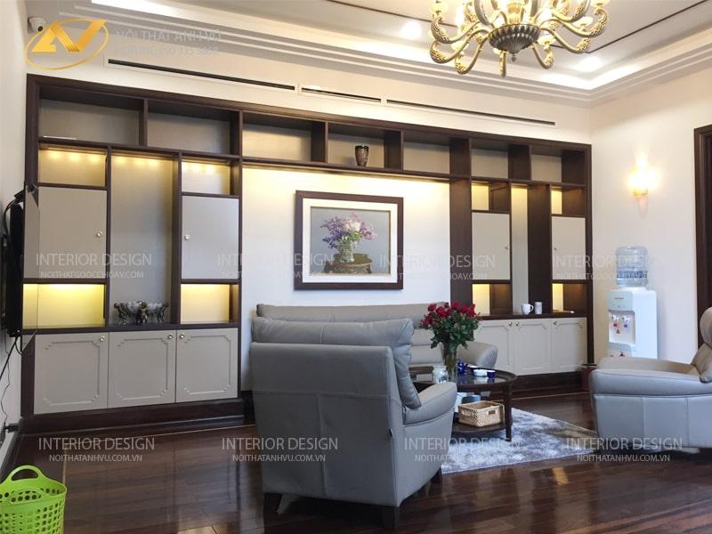 Thiết kế Thi công nội thất biệt thự tân cổ điển - Nội thất Anh Vũ