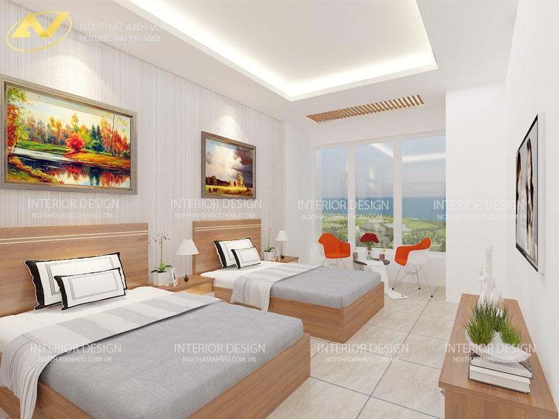 Thiết kế nội thất khách sạn mini cao cấp - Nội thất Anh Vũ
