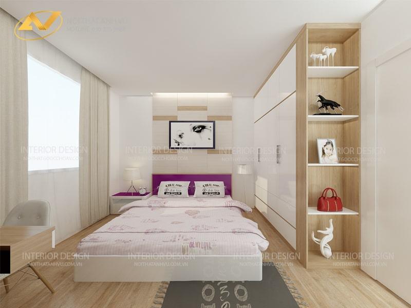 Thiết kế nội thất nhà chung cư đẹp - Nội thất Anh Vũ