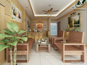 Thiết kế nội thất văn phòng đẹp - Nội thất Anh Vũ
