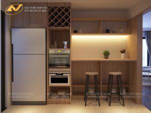 Thiết kế nội thất căn hộ chung cư đẹp - Nội thất Anh Vũ