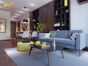 Thiết kế nội thất chung cư đẹp - Nội thất Anh Vũ