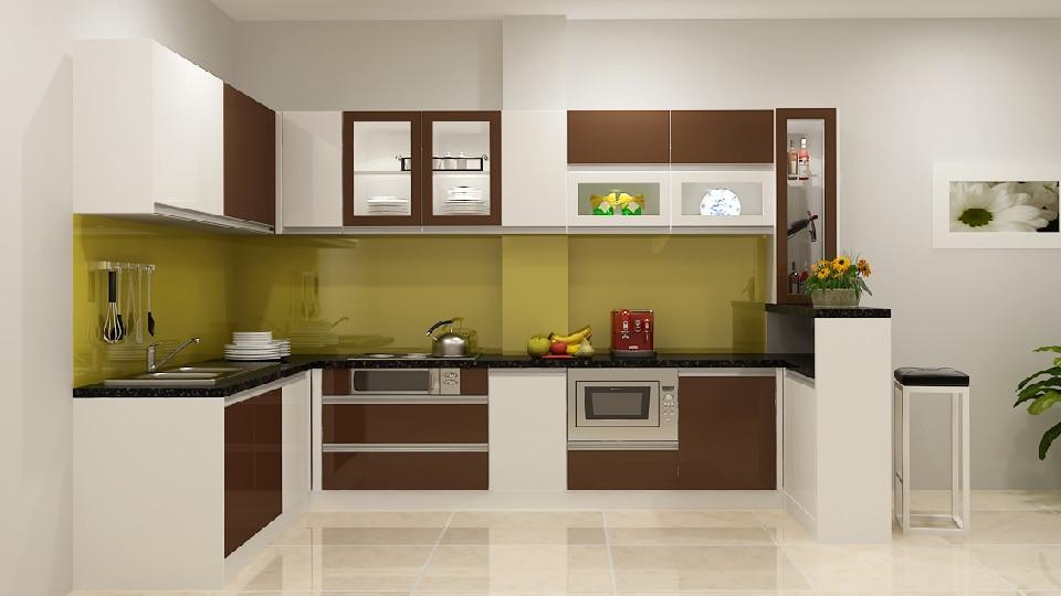 Thiết kế nhà bếp theo phong thủy nhà biệt thự đặt ở hướng Đông Bắc