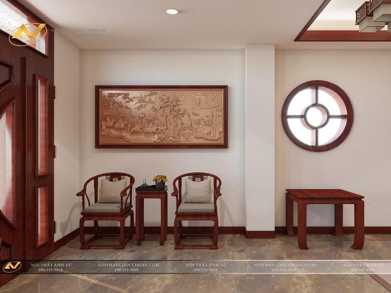 Thiết kế nội thất phòng thờ đẹp - Nội thất Anh Vũ
