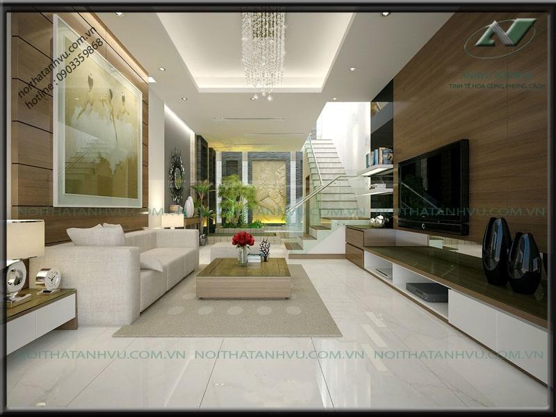 Thiết kế nhà đẹp hiện đại - Nội thất Anh Vũ
