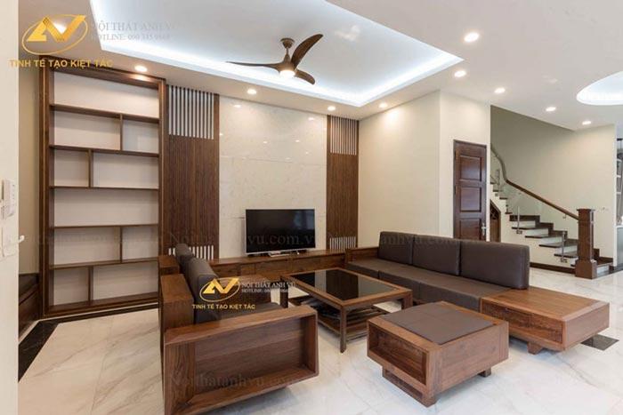 vật liệu được dùng để thi công nội thất đều được lựa chọn kĩ càng