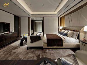 Anh Vũ thiết kế nội thất chung cư theo sở thích của khách hàng