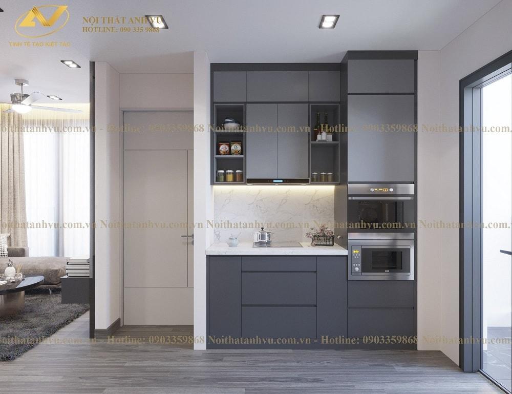 Thiết kế nội thất chung cư đẹp hiện đại - Nội thất Anh Vũ