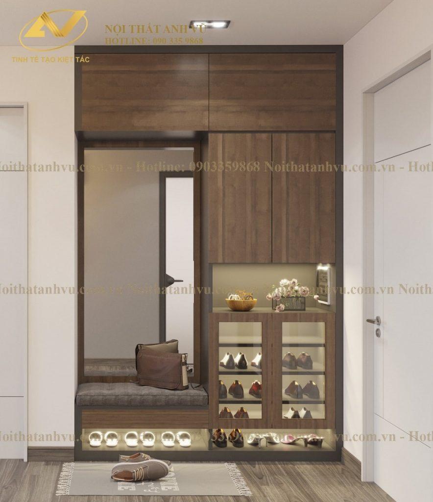 Thiết kế nội thất chung cư Ngoại Giao Đoàn sang trọng Mr Ngọc Thiet-ke-noi-that-chung-cu-dep-hien-dai-6-884x1024