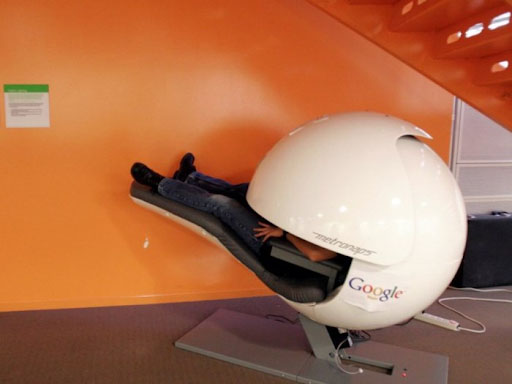 Văn phòng Google tại Mountain View - Nội thất Anh Vũ