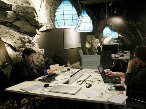 Văn phòng Google tại Dublin - Nội thất Anh Vũ