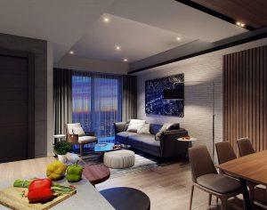 Thiết kế nội thất căn hộ 60m2 - nội thất Anh Vũ