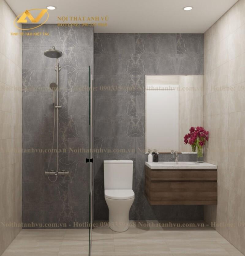 Mẫu thiết kế nội thất chung cư 70m2 số 4-5