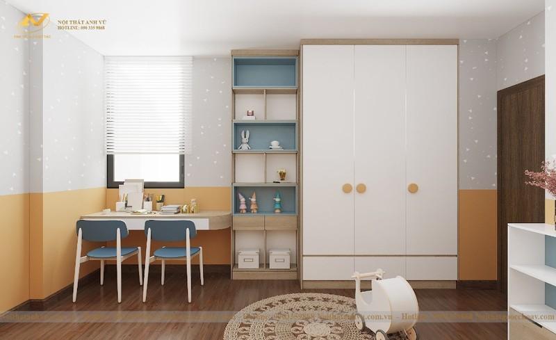 Mẫu thiết kế nội thất chung cư 70m2 số 5-4