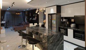 Thiết kế nội thất căn hộ 90m2 - Nội thất Anh Vũ