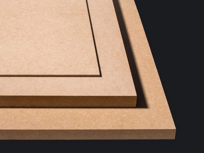 Ván gỗ HDF có bề mặt nhẵn mịn - Nội thất Anh Vũ