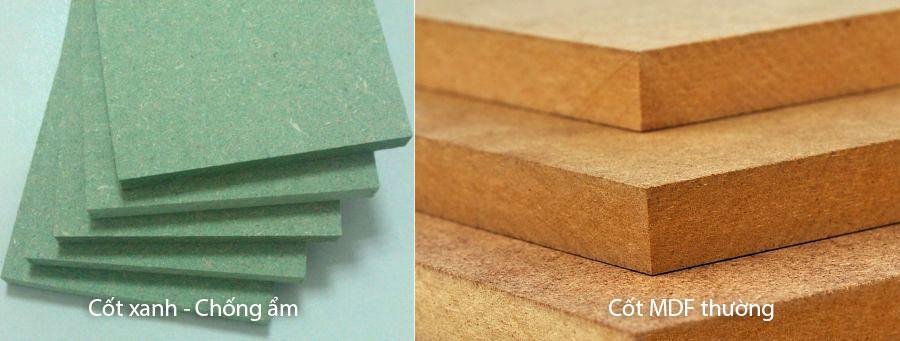 Cốt gỗ MDF công nghiệp - Nội thất Anh Vũ
