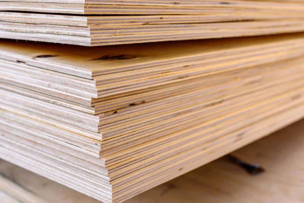Ván gỗ dán (gỗ ghép thanh) công nghiệp - Nội thất Anh Vũ