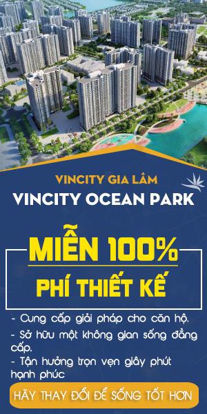 Thiết kế chung cư Vincity Ocean Park