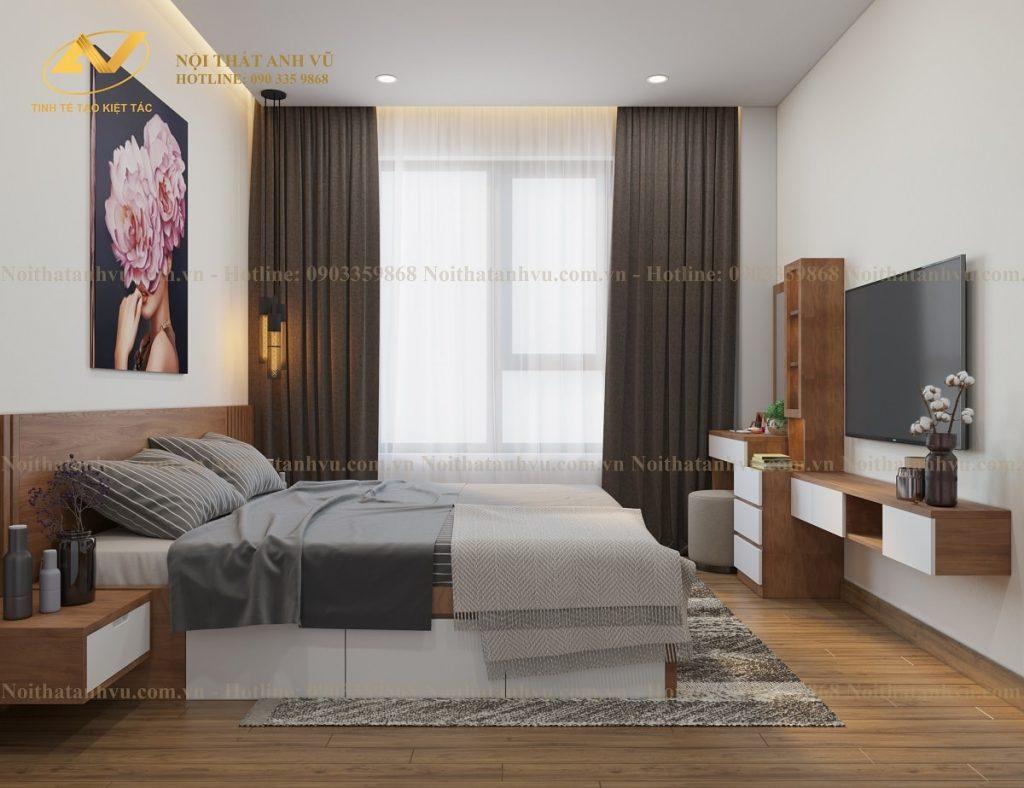Thiết kế nội thất chung cư HomeLand 3 phòng ngủ - Mr Trung Noi-that-chung-cu-homeland-8-1024x788