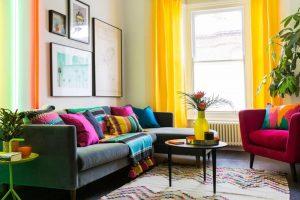 Phong cách thiết kế nội thất Color Block
