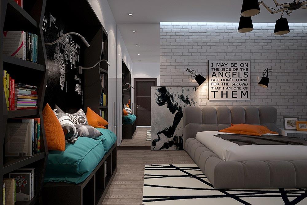 Phong cách thiết kế nội thất Funky