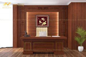 Thiết kế văn phòng làm việc của lãnh đạo - Nội thất Anh Vũ