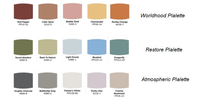 Bộ sưu tập về màu sắc gây bão 2020
