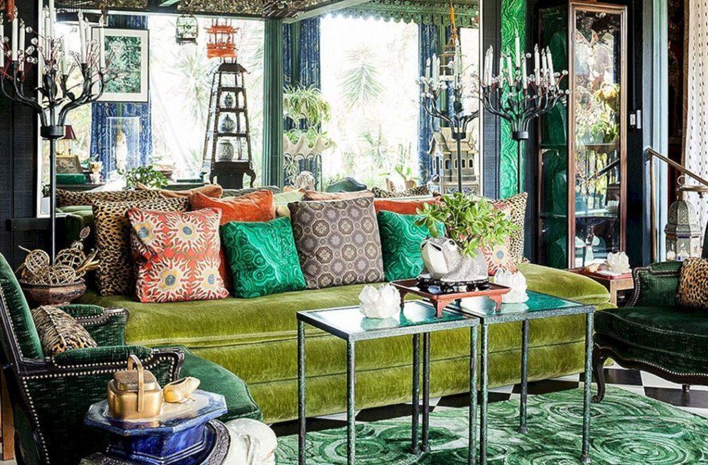 Phong cách nội thất tối đa