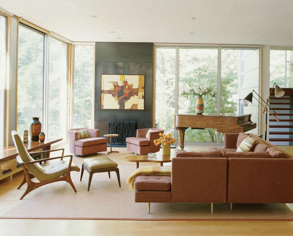 Phong cách nội thất Mid Centry Modern