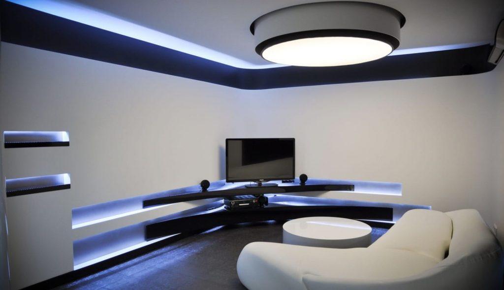 Phong cách thiết kế nội thất tương lai Hitech kiến trúc nội thất khiến dân công nghệ phát cuồng Phong-cach-noi-that-hitech-1-1024x589