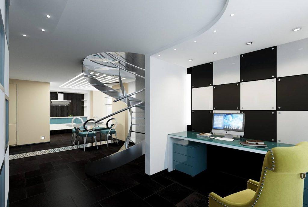 Phong cách thiết kế nội thất tương lai Hitech kiến trúc nội thất khiến dân công nghệ phát cuồng Phong-cach-noi-that-hitech-7-1024x689
