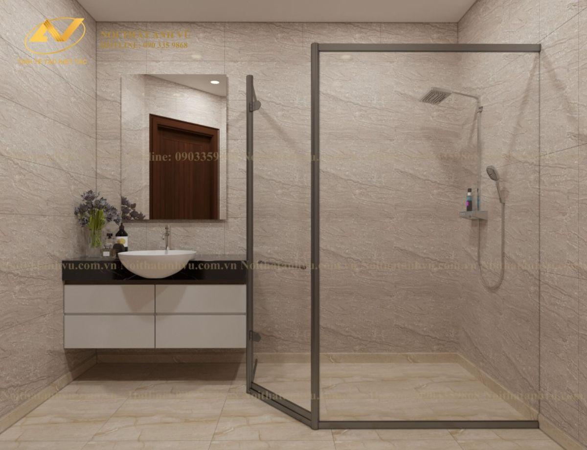 thiết kế nội thất phòng tắm