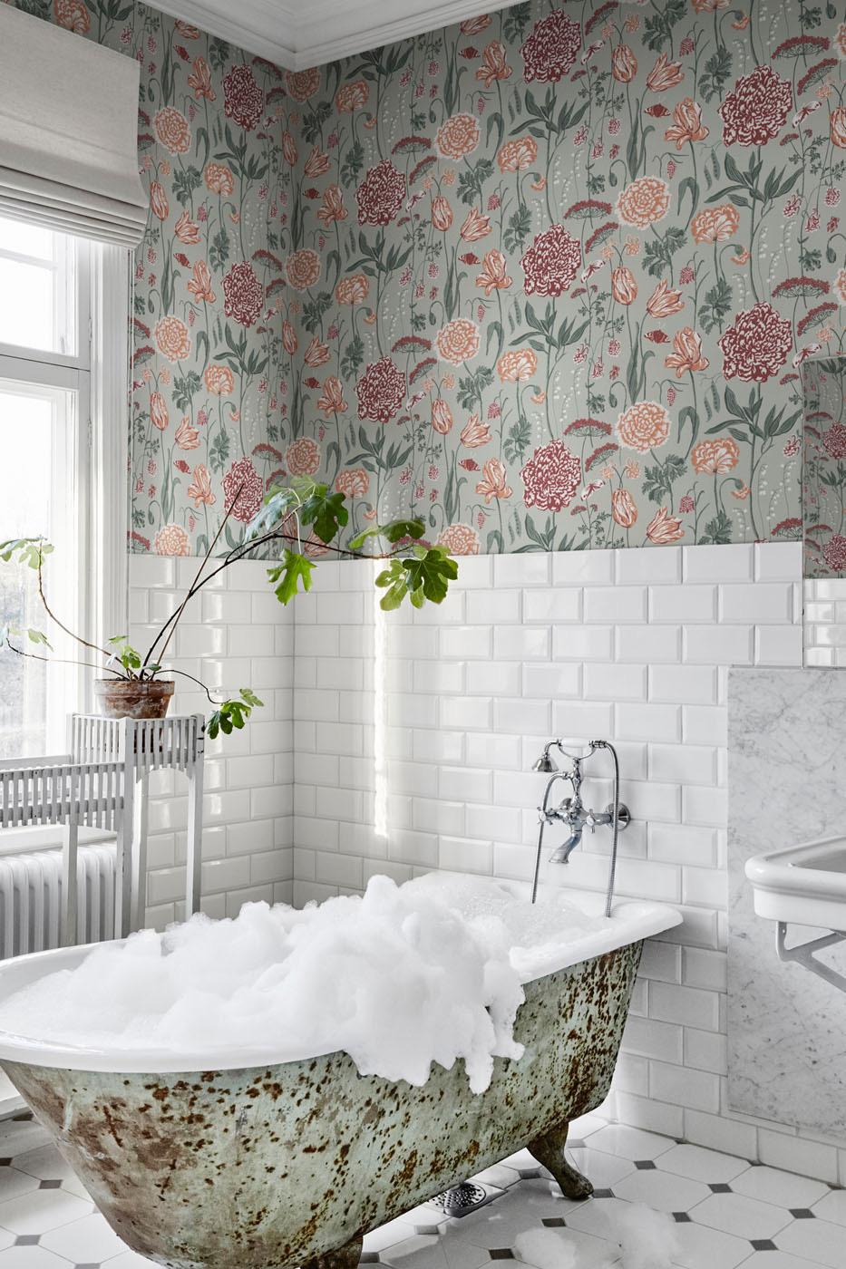 Trang trí không gian phòng tắm