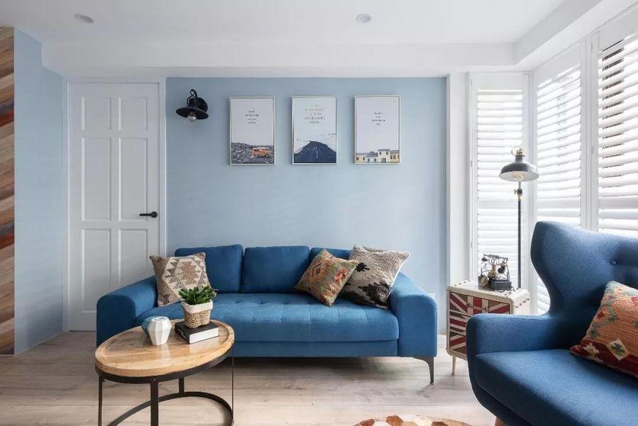 Màu xanh Classic Blue trong thiết kế nội thất 2020