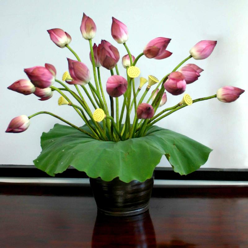 Trang trí nhà bằng hoa tươi