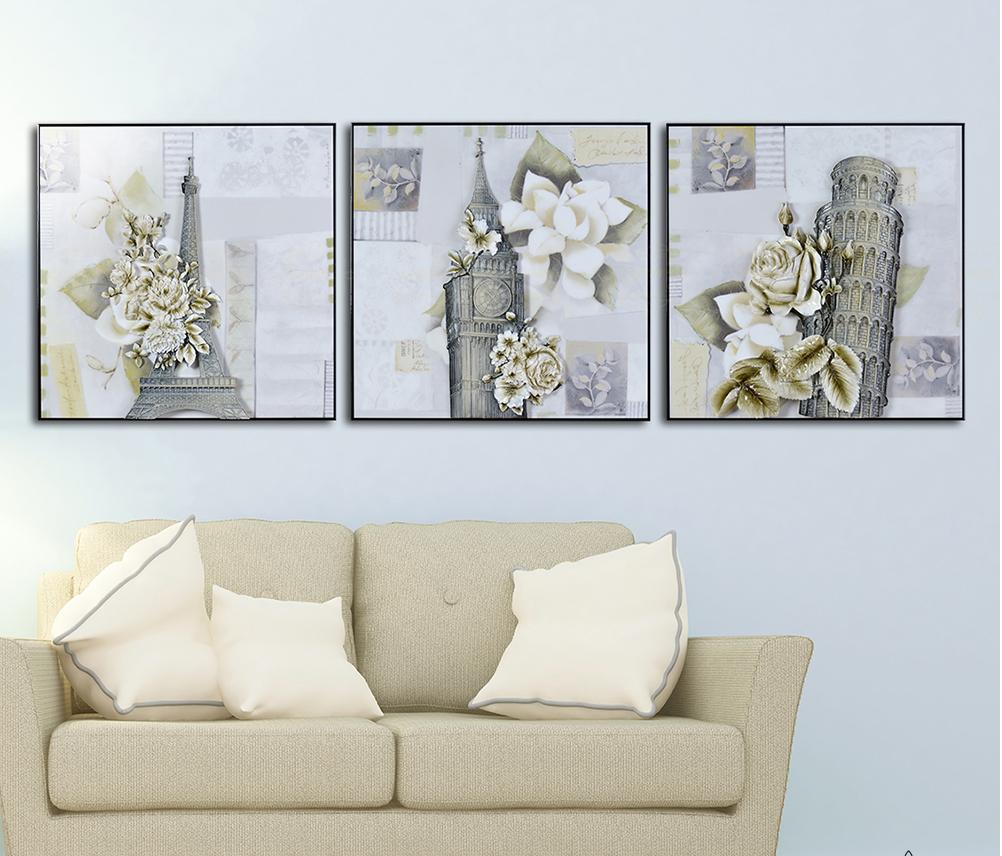 Chọn tranh trang trí phòng khách