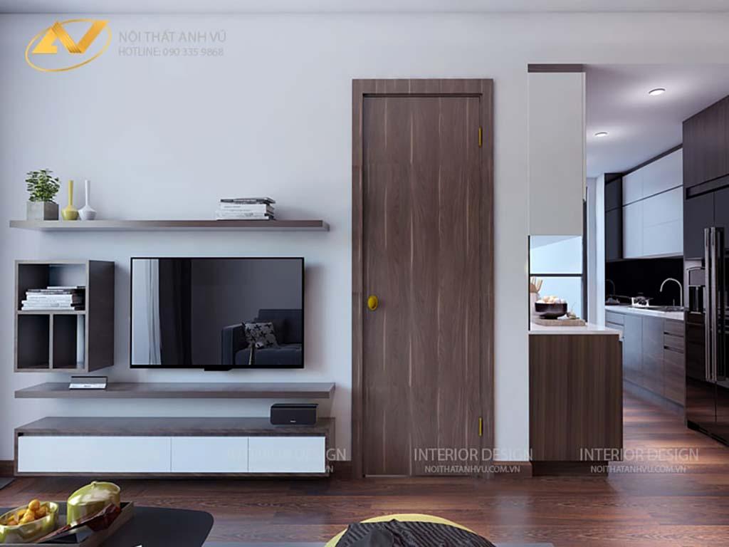 Thiết kế nội thất chung cư anh Đạt 2