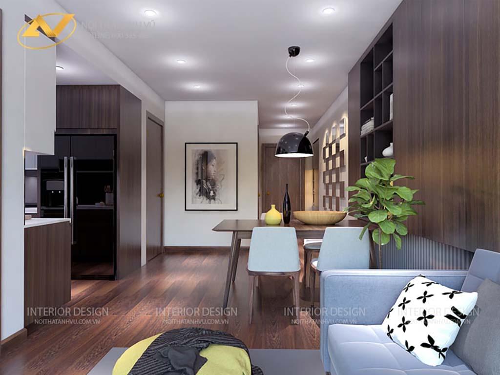 Thiết kế nội thất chung cư anh Đạt 3