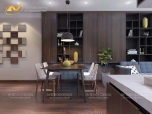 Thiết kế nội thất chung cư anh Đạt 4
